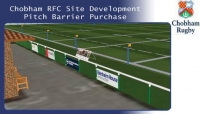 Chobham RFC Site Development Pitch Barrier Purchase