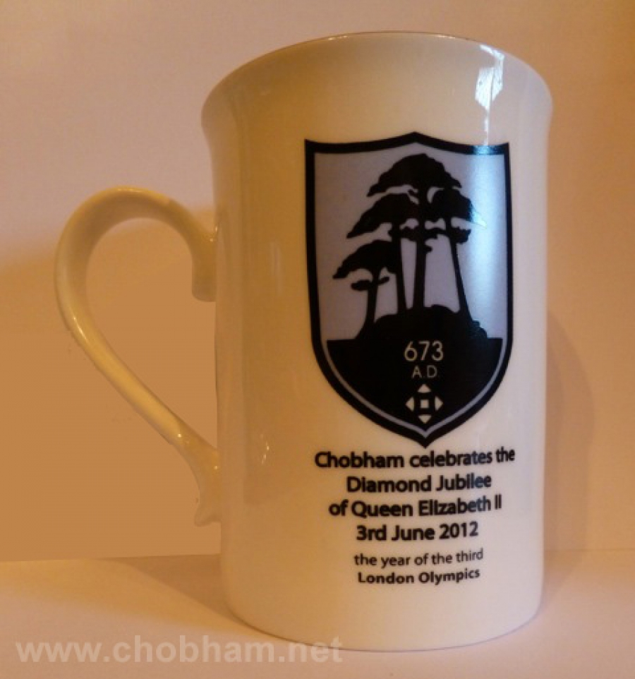 The Chobham Diamond Jubilee Mug