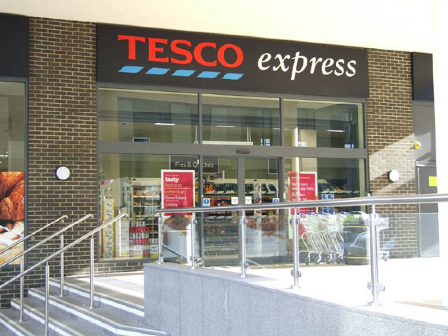 A Tesco Express Store
