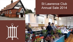 St Lawrence Chobham Club Annual Sale 2014