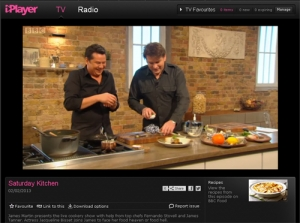 Fernando Stovell on Saturday Kitchen