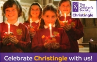 Christingle lights up a December afternoon
