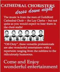 A musical evening of CELEBRATION at St Lawrence Church