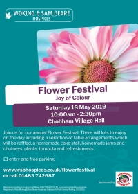 Woking and Sam Beare Hospices Flower Festival - May 2019