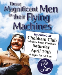 The Chobham Saturday night movie - with fish and chips