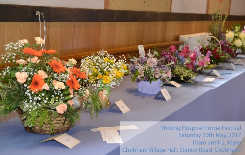 Woking Hospice Flower Festival, May 2017